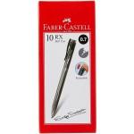FABER-CASTELL Ballpen RX7 0.7 Black - Box of 10 pcs