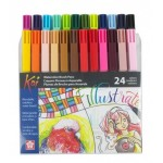 SAKURA KOI WATERCOLOR BRUSH PENS - SET OF 24