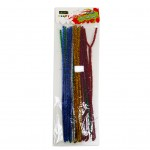 Pipe Cleaner 25pcs Assorted colour set