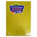 EVA Sponge with Glitter 50x70cm