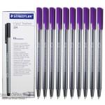 Staedtler 334-06 Triplus fineliner Violet Box of 10 Pcs