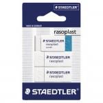 Staedtler Eraser Blister of Rasoplast+Combi  (526-SBK3D)