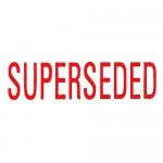 Self Ink Stamp -  Superseded