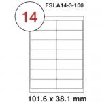 MULTI PURPOSE WHITE LABEL-101.6X38.1mm-FSLA14-3-100