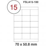 MULTI PURPOSE WHITE LABEL-70X50.8mm-FSLA15-100