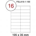 MULTI PURPOSE WHITE LABEL-105X35mm-FSLA16-1-100