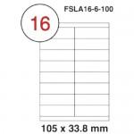 MULTI PURPOSE WHITE LABEL-105X33.8mm-FSLA16-6-100