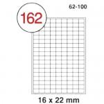 MULTI PURPOSE WHITE LABEL-16X22mm-FSLA162-100