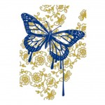 TOP-OG-RAPHY TOP SOFTRN BUTTERFLY LAYER