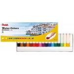 Pentel HTP Water Colour Paint Set of 18 Colors
