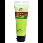 SAKURA ACRYLIC 75ML YELLOW GREEN