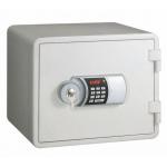 Fire Resistant Eagle Safe WHITE Locking Digital + Keylock
