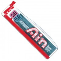 Pentel C255 AIN Lead 0.5mm Hi Polymer 1 Tube Per Pack