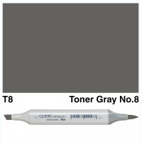 T 8 TONER GRAY COPIC MARKER