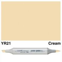 YR 21 CREAM COPIC MARKER