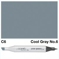 C6 COOL GRAY COPIC MARKER