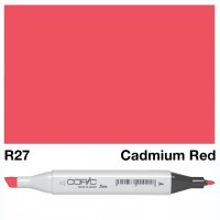 R 27 CADMIUM RED COPIC MARKER
