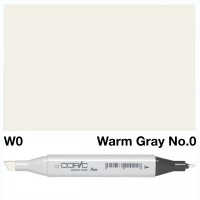 W 0 WARM GRAY COPIC MARKER