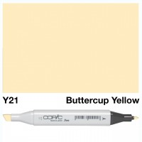 Y 21 BUTTERCUP YELLOW COPIC MARKER