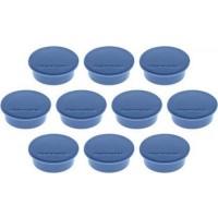 MAGNETOPLAN MAGNETIC – DISCOFIX  (Size 9mm, Dia 34mm) 10Pcs/ Packet DARK BLUE