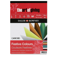 Daler Rowney Canford Festive Pad A4