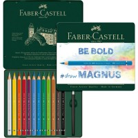 FABER-CASTELL Water colour pencil Goldfaber Aqua tin of 24