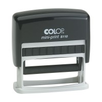 COLOP Mini-Print S110 With Blue Pad