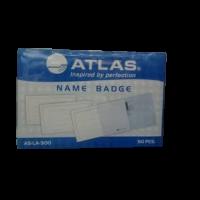 Atlas Name Badge LA300 Box of 50 Pcs