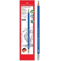 FABER-CASTELL Black Lead Pencil Blue with eraser tip