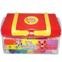 Kiddy Clay Modelling Clay 430gm 8 Color and 16 Mold