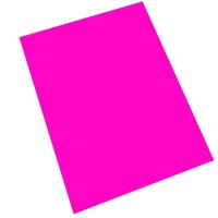 SADIPAL Fluorescent Card Board Colour Sheet-250GMS-Magenta 10SH/PK,