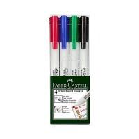 FABER-CASTELL Whiteboard Marker Bullet Set of 4 Hang Sell