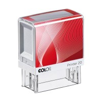 COLOP Printer 20 L04 RECEIVED white/red in blister 100684