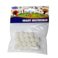 White Color Round beads for Craft