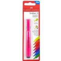 FABER-CASTELL Highlighter Textliner 18 Pink Blister(Slim)