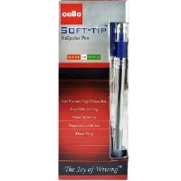 Cello Soft tip 0.7mm Blue 12pcs Box (15725)