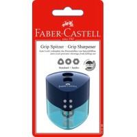 FABER-CASTELL Grip Auto Shpnr Blister Pk of 1Pc with New Trend Colors (183197)