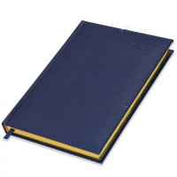 FIS Golden A5 Diary 2021 (English) Blue
