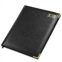 FIS Executive Diary 2021 English/French (1 Week at a glance) Black