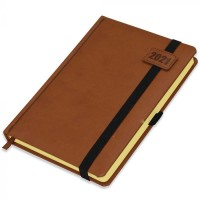 FIS Diary 2021 (English) A5, Brown