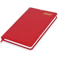 FIS Diary 2021 (English) Red, A5