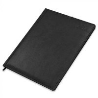 FIS Executive Diary 2021 English/French (1 Week at a glance) Italian PU Padded, Cover, Black