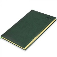 FIS A4 Diary 2021 English (Saturday & Sunday Combined) Green