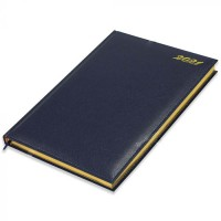 FIS Golden Diary 2021 (English) Blue, A4