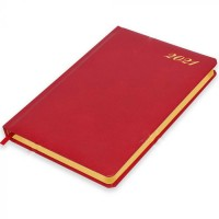 FIS Golden Diary 2021 (English) Red, A5