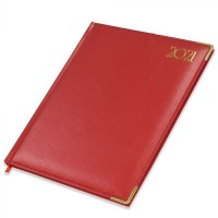 FIS Executive Diary 2021 English/French (1 Week at a glance) Red