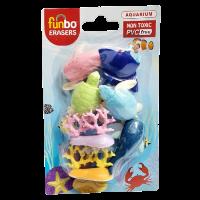 Funbo 3D Eraser in Blister Pack-Aquarium