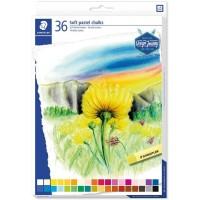 Staedtler 2430-C36 Soft pastel chalks  Set 36 Colors