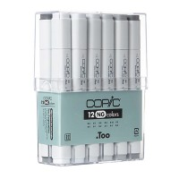 "Copic Marker 12pc - Grey-Set ""NG"""