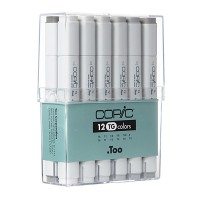 "Copic Marker 12pc - Grey-Set ""TG"""